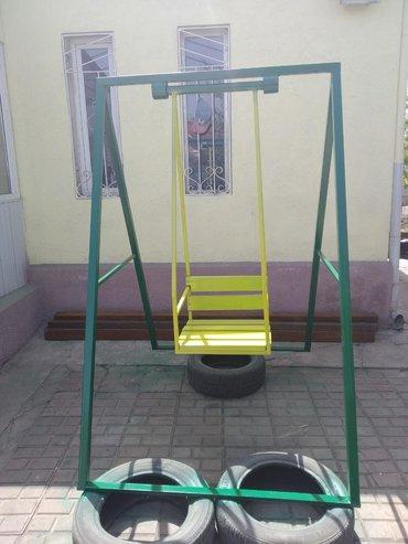 оюнчуктар в Кыргызстан: Качели готовы развлекать детишек, сделанно с любовью. Доставим
