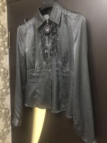 Рубашка женская, новая, брала в Италии за 4000,размер 46-50, фото и ви