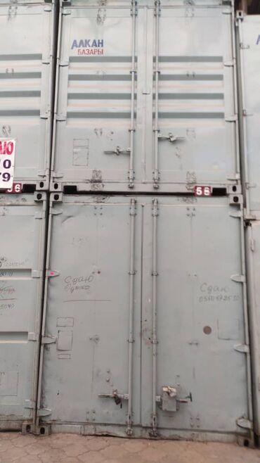 Торговая недвижимость - Кыргызстан: Продается контейнер, рынок Алканов ряд Гермес 58, третий от Аляски
