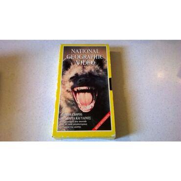 1 βιντεοκασσέτα - National Geographic - Αιώνιοι εχθροί: Λιοντάρια και