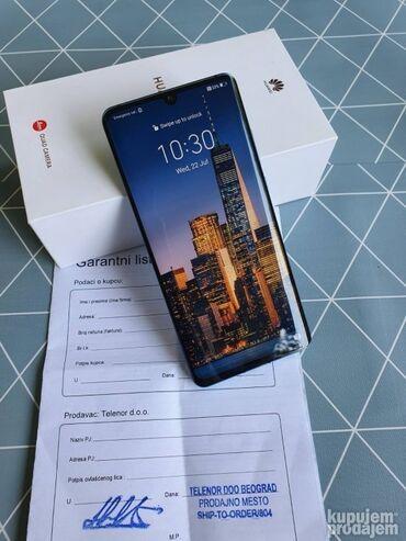 Fiksni telefon - Srbija: Huawei P30 pro full pack PERFEKTNO STANJE 6/128(Korišćeno)399,00 € -