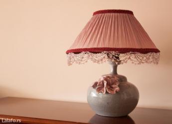 Veoma interesantna, nova stona lampa, visine 50 cm. Donji deo je od - Belgrade