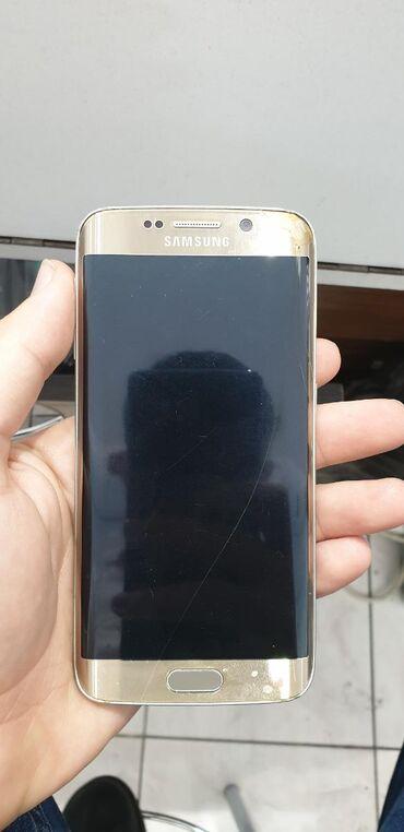 Samsung-galaxy-s6-edge - Азербайджан: На запчасти Samsung Galaxy S6 Edge 8 ГБ Золотой