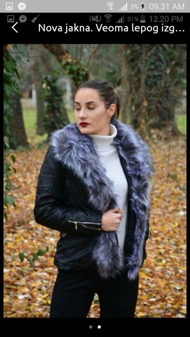 Nova jakna...L velicina.Lepa i modernog kroja.Postavljena...krzno se - Belgrade