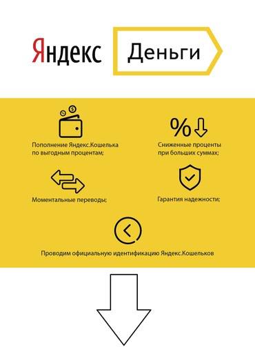 Яндекс.Деньги пополнение и в Бишкек
