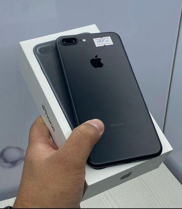 трещина в Кыргызстан: Б/У iPhone 7 Plus 128 ГБ Черный