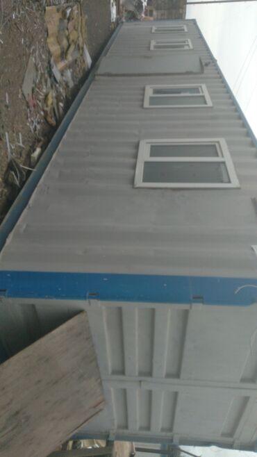 konteyner ofis - Azərbaycan: 12nin 2.40a ofis tipli konteyner 4 pencere ve 1 seyf qapıElektrik