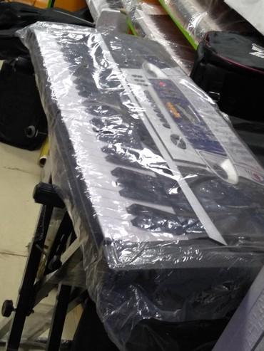 Sintizator 4 oktava yarım mikrafonlu böyük ölçülü 100 ses 100 ritm