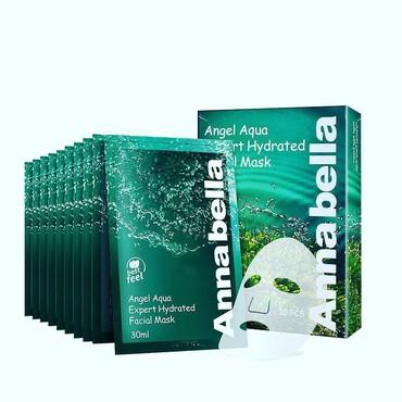 black mask от черных точек в Кыргызстан: Маска Annabella Angel Aqua Expert Hydrated Facial Mask укрепляет