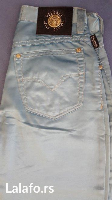 Pantalone struk duzina - Srbija: Versace, original pantalone. 28 velicina, visoki struk (72cm), duzina