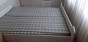 туалетный столик с зеркалом бишкек в Кыргызстан: Продаю кровать и туалетный столик с зеркалом. кровать с 2мя