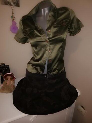 Vojnička suknja i košulja S veličina suknja MKošulja ima elastina