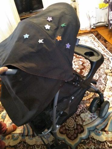 Продаю коляску б/у, цвет коричневый , в Бишкек