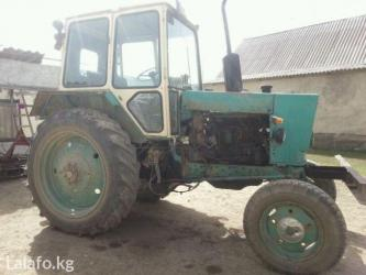 Traktor ymz 6akl. Bolshoi kabina, rodnoi kraska ,i diski. Odin ruka в Бишкек - фото 2
