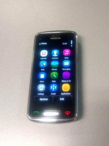 Nokia C6-01 - smartfon, metal korpus. Problemsiz telefon, ustada в Bakı