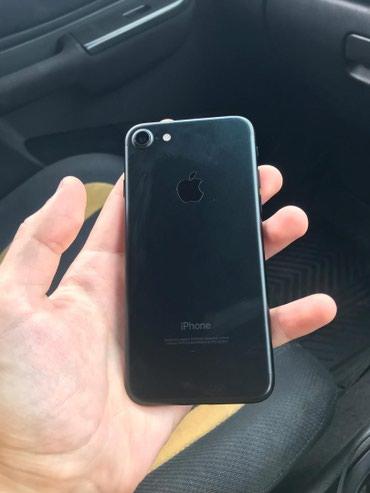 Продаю iPhone 7 чёрный матовый 32 gb состояние отличное в Бишкек
