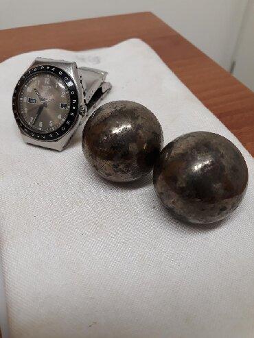 бальзамы лосьоны после бритья в Азербайджан: Два стальных шара. Для тренинга кисти руки после инсульта
