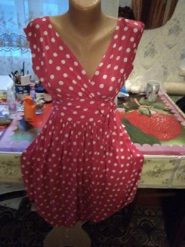 Женская одежда в Каинды: Сочный сарафан на лето, размер от 42-44 до 48, т.к. на резиночке 250