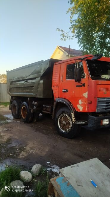 камаз бишкек in Кыргызстан | ГРУЗОВЫЕ ПЕРЕВОЗКИ: Камаз По городу | Борт 15000 кг. | Переезд, Вывоз строй мусора, Вывоз бытового мусора