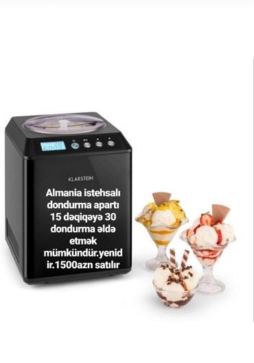 Bakı şəhərində Dondurma aparatı satış sifarişlədir.15deq 30 dondurma verir.