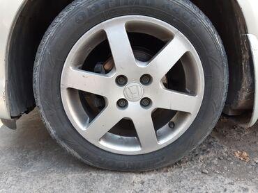 глобал шина в Кыргызстан: Продаю оригинал диски R15 вместе с шинами не варенные 13000сом!!!
