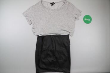 Жіноча комбінована сукня H&M, р. S   Довжина: 80 см Ширина плечей