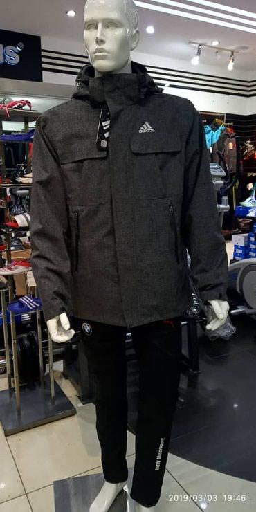 Куртка Норд Фейс двойка и Puma двойка (внутри Флисовая костюм)