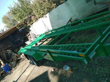 Прицеп лафет автовоз платформа 8м груз. под 3,5тоны цена1500$ в Бишкек