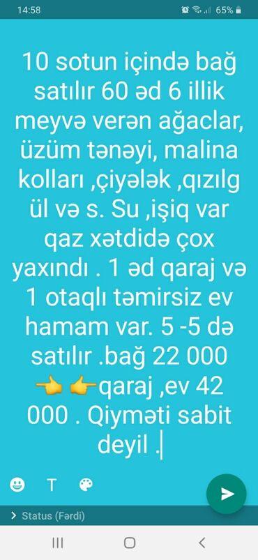 bağ evi kottecləri - Azərbaycan: Satış 10 sot Biznes üçün mülkiyyətçidən