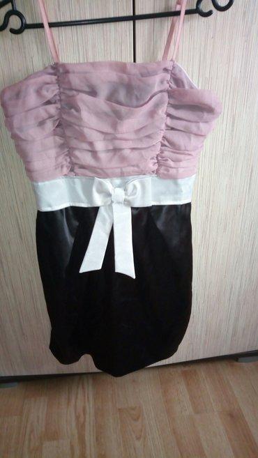 Prelepa haljina 40vel savesno stoji - Sabac