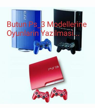 Bakı şəhərində Prosifkasiz Butun Playstation_3 modellerine oyun yaziram...(