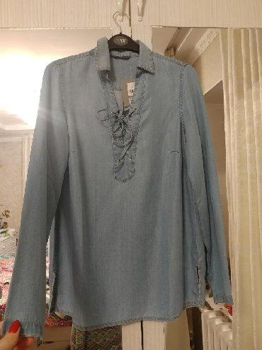 джинсовая жилетка женская в Кыргызстан: Джинсовая модель рубашкиженская 36 размер новая.лёгкий приятный