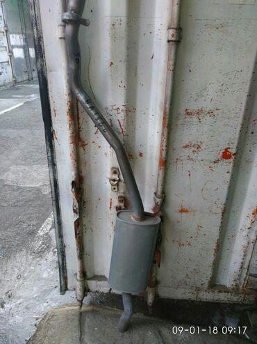 Продаю задний глушитель на вольсваген Т-4. Производство Китай