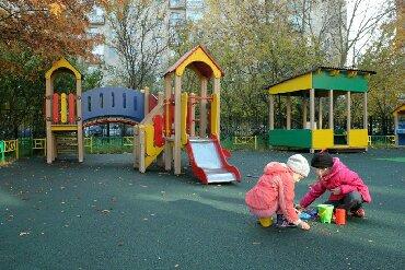 детский частный сад в Кыргызстан: Горка- домик, для детских садов, площадок, яслей и частных домов