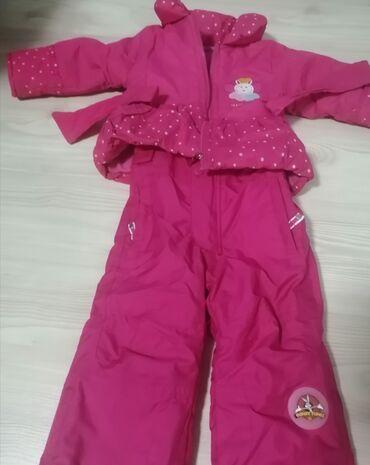 Dečija odeća i obuća - Kosovska Mitrovica: Ski odelo za devojcice 12 m, malo korisceno, ne propusta vodu