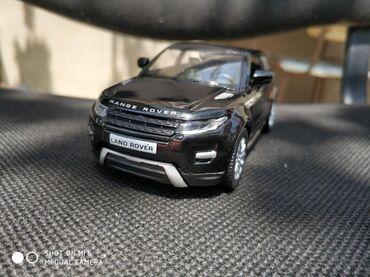 Avtomobil modelləri Azərbaycanda: Model N°41 Range Rover EvoqueAğ, qara parlaq və mat, qırmızı, yaşıl