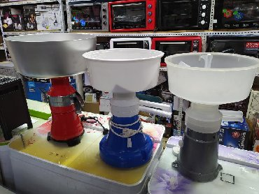 Сепаратор сепараторы электрический и ручнойОбъем 5л 12лДоставка