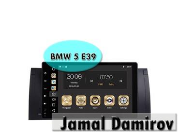 bmw monitor - Azərbaycan: BMW 5 E39 üçün Android DVD- monitor.  Android DVD- монитор для BMW 5 E