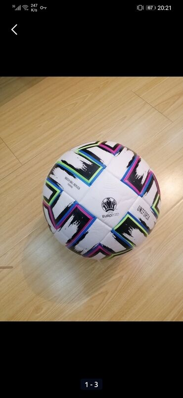 topu - Azərbaycan: Futbol topuYüksek keyfiyyətli Euro 2020 model futbol topu. Lazer