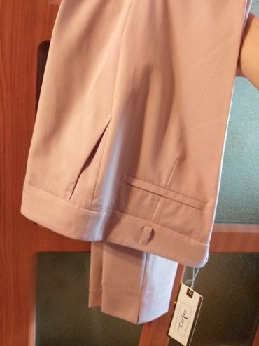 Женские брюки в Кыргызстан: Брюки. Турция. Размер 40. Цвет: пудра. Реальному покупателю СКИДКА! ;)
