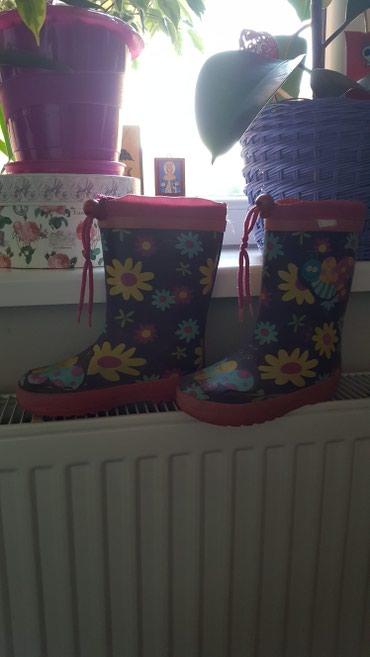 Gumene cizme za devojcice ima i krzno unutra.br.28 - Vrsac