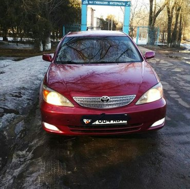 продаю тоëту камри 30 кузове  2002 год обьем 2. 4 6800$ mini torg  на  в Бишкек