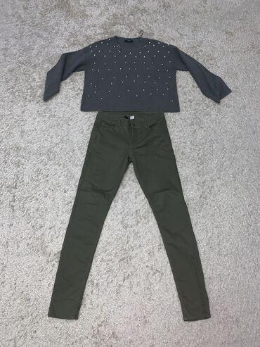 Брюки - Кыргызстан: Штаны размер 40 (M) 300с Кофта размер m-l (укорочённая) 200с