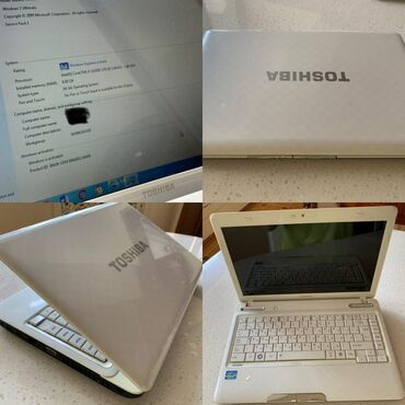 netbook satilir - Azərbaycan: Watsapa yazin Toshiba Notebook satilir 330₼ seligeli ishlenilib ama