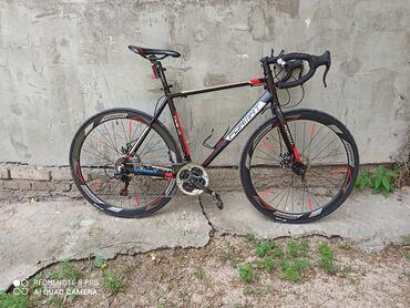 велосипед урал цена в Кыргызстан: Велосипед шоссейный FORMAT в отличном состоянии рама алюминиевый цена