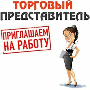 Торговые агенты - Кыргызстан: Торговый агент. С опытом. Сменный график