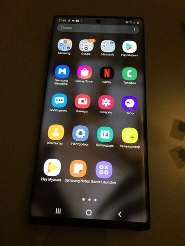 Samsung - Bakı: Galaxy Note 10+ Bir ilin smartfon telefonudu.Özümündü.Teze Pro max 12