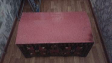 Sumqayıt şəhərində Sandiq satilir, uzunlugu 82 sm, eni 47 sm, hundurluyu 41 sm-dir. Real