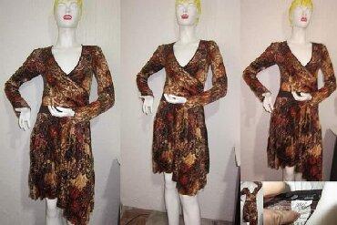 Pilisana haljina kao nova sa elastinom M/L. Odlicno stoji - Novi Sad