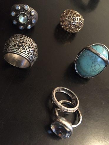 Bakı şəhərində Бижутерия, кольца, размер 16.5-17. Каждое по 10 манат
